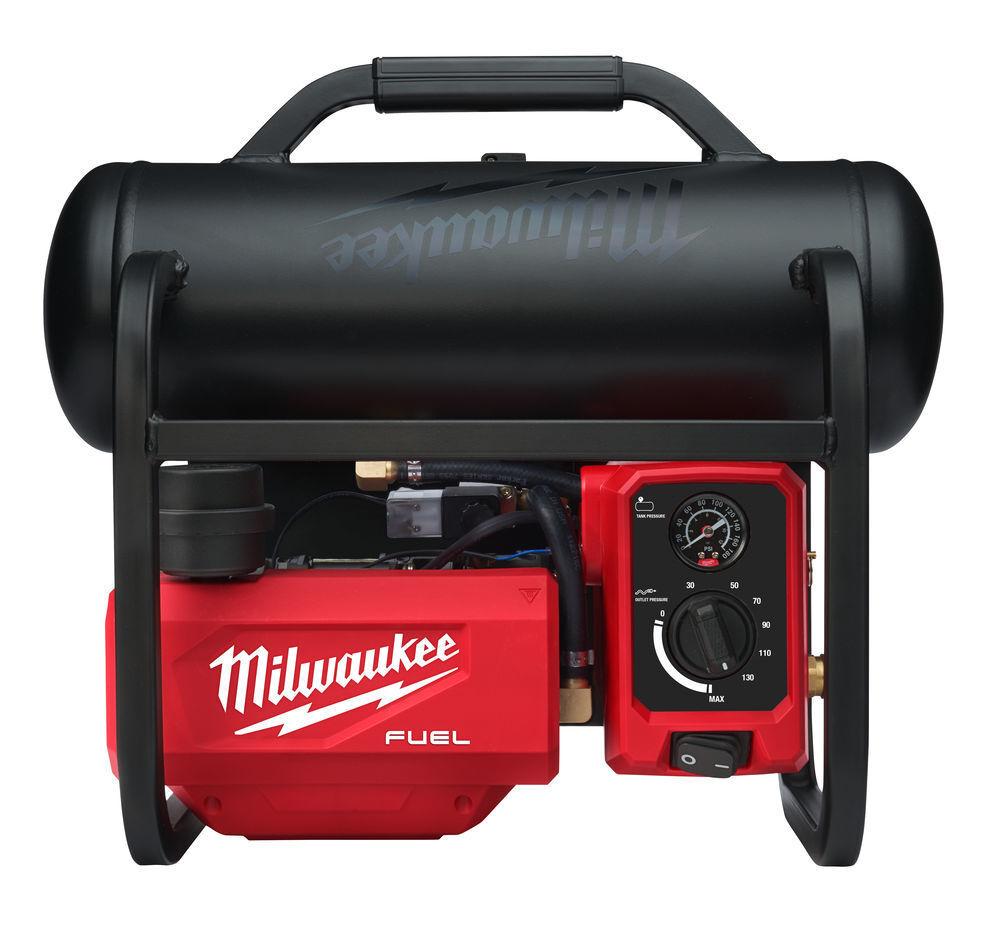 Aku kompresor 18V 9,3 bar, vzdušník 7,6 l, bezuhlíkový - Milwaukee M18 FAC-0
