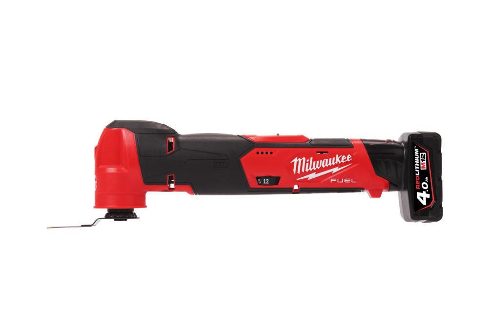 Aku multifunkční nářadí 12V, sada 2 baterie 4,0 a 2,0 Ah - Milwaukee M12 FUEL FMT-422X
