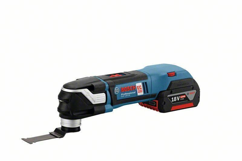 Aku multifunkční nářadí Bosch GOP 18 V-28 Professional, 2x2,0 Ah, LB, AC - 06018B6000