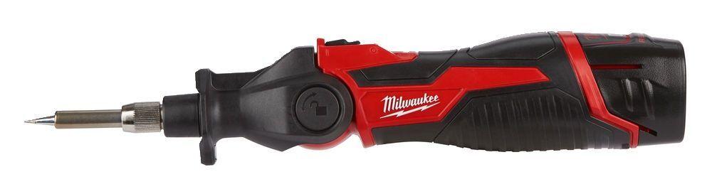 Aku pájka 12V 90W 2,0 Ah, ohebná hlava, v kufru - Milwaukee M12 SI-201C