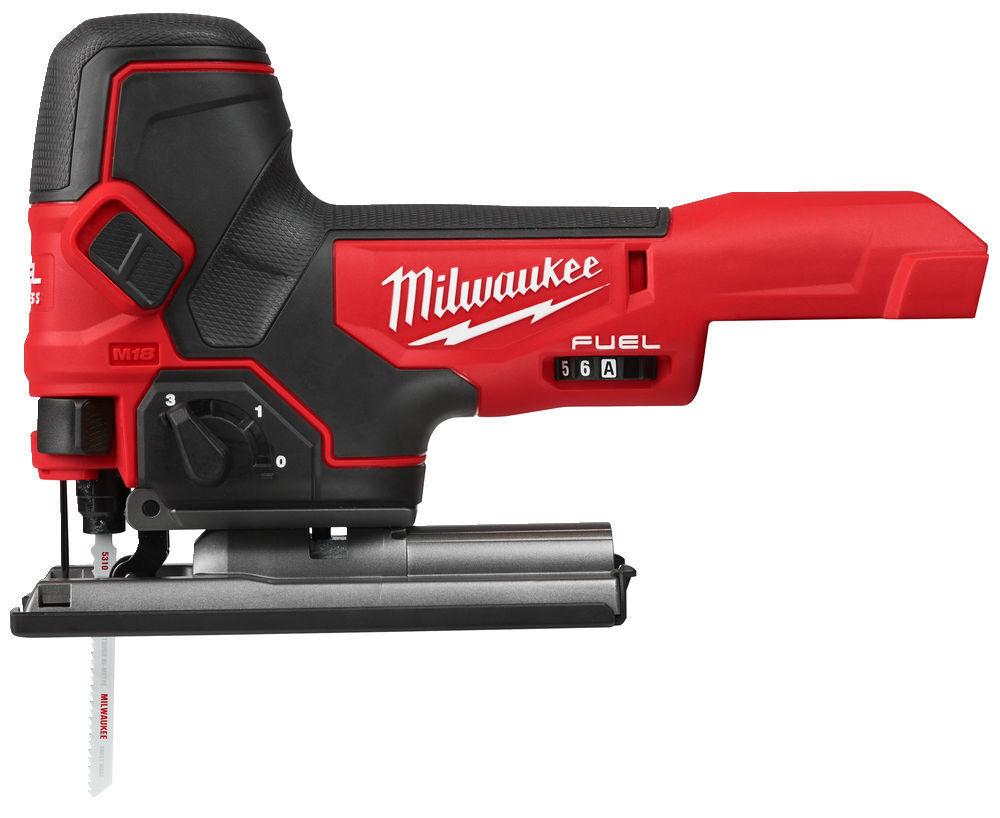 Aku přímočará pila 18V, bezuhlíková, LED osvětlení - Milwaukee M18 FBJS-0X FUEL