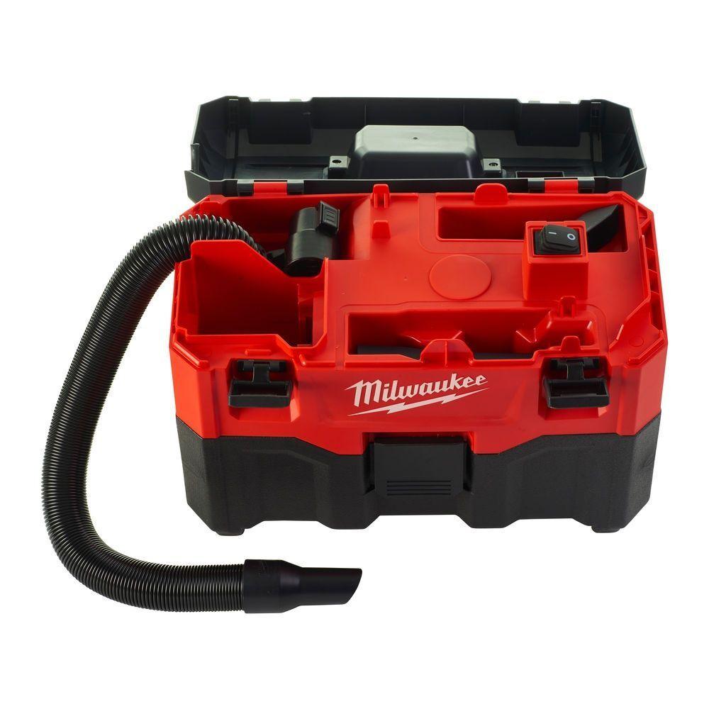 Aku průmyslový vysavač 18V, na mokré i suché vysávání - Milwaukee M18 VC2-0