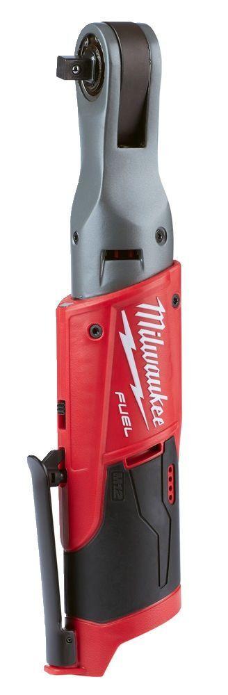 "Aku ráčnový utahovák 3/8"" 75 Nm, kompaktní 307 mm - Milwaukee M12 FIR38-0 FUEL"