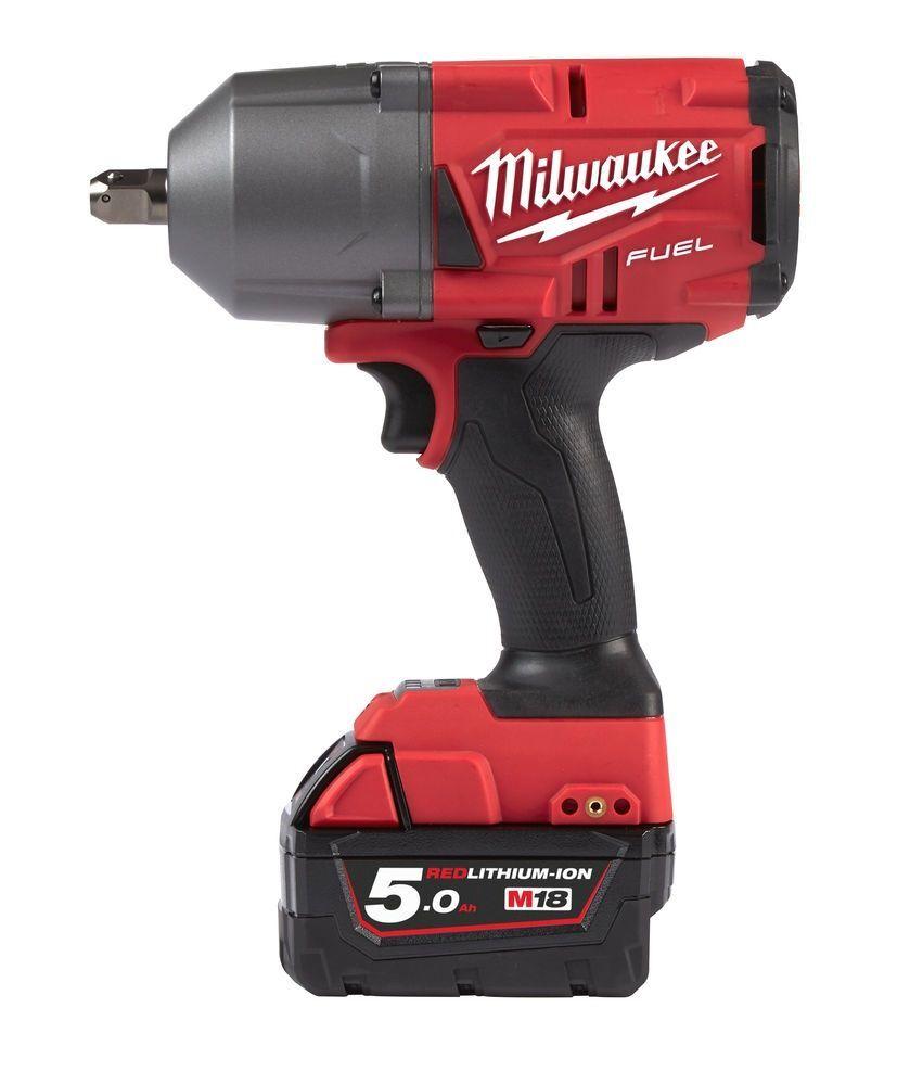 "Aku rázový utahovák 1/2"" 1017 Nm, 5,0 Ah Li-Ion - Milwaukee M18 FHIWP12-502X"