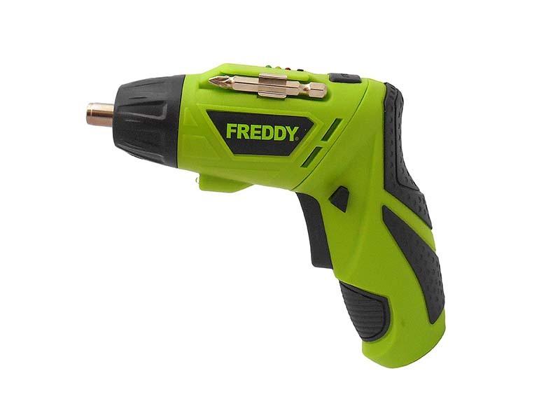 Aku šroubovák 3,6V, 1,3Ah, LED světlo, max. utahovací moment 3 Nm - FREDDY FR005