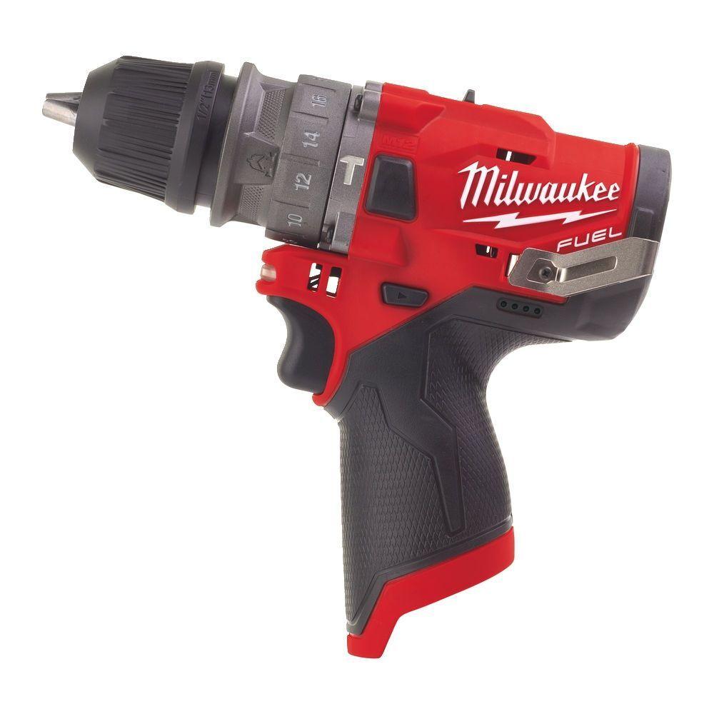 Aku příklepová vrtačka - šroubovák 37 Nm, 12V - Milwaukee M12 FPDX-0