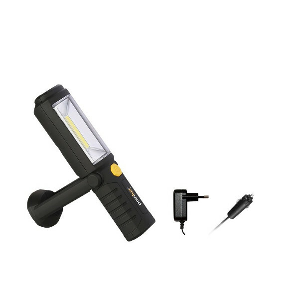 Lampa montážní INDY DUO, COB + 5 LED, AKU- Panlux ALD-2805/12