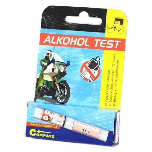 Alkohol tester - detekční trubička, jednorázový - COMPASS