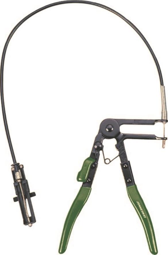 Kleště na hadicové spony s bowdenem (s lankem) - JONNESWAY AR060021
