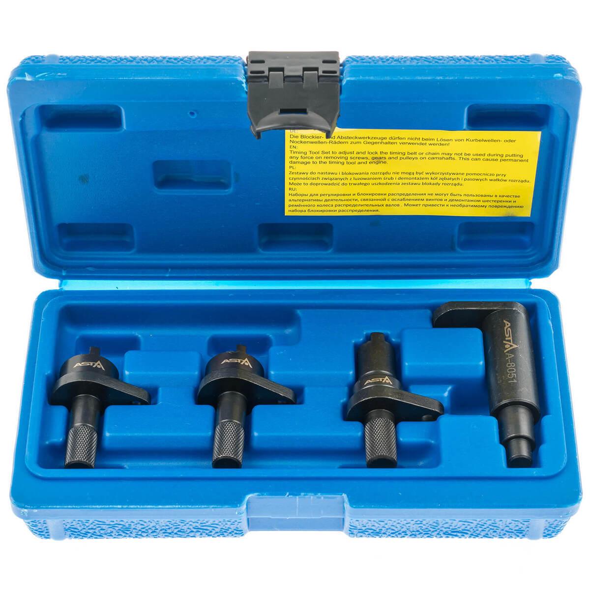 Aretace klikové a vačkové hřídele VAG 1.2 l 6V a 12V benzín, 3válec