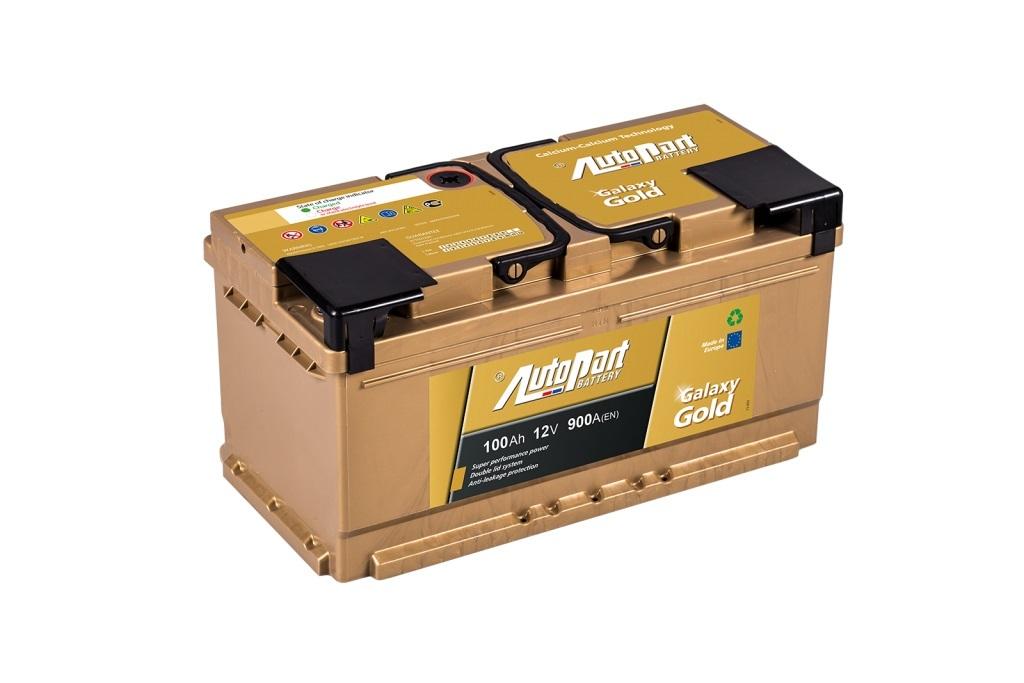 Autobaterie Galaxy Gold 100 Ah 12V, 353x175x175 mm