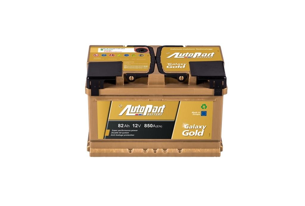 Autobaterie Galaxy Gold 82 Ah 12V, 278x175x190 mm