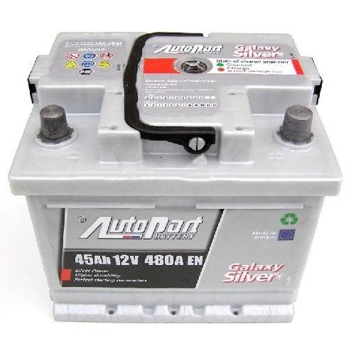 Autobaterie Galaxy Silver 45Ah 12V