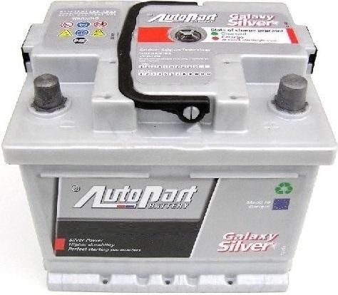 Autobaterie Galaxy Silver 50 Ah 12V, 207x175x190 mm