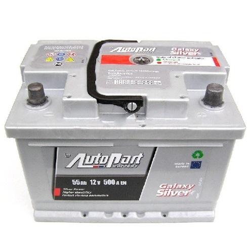Autobaterie Galaxy Silver 55 Ah12 V