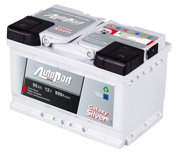Autobaterie Galaxy Silver 85 Ah 12V, 278x175x190 mm