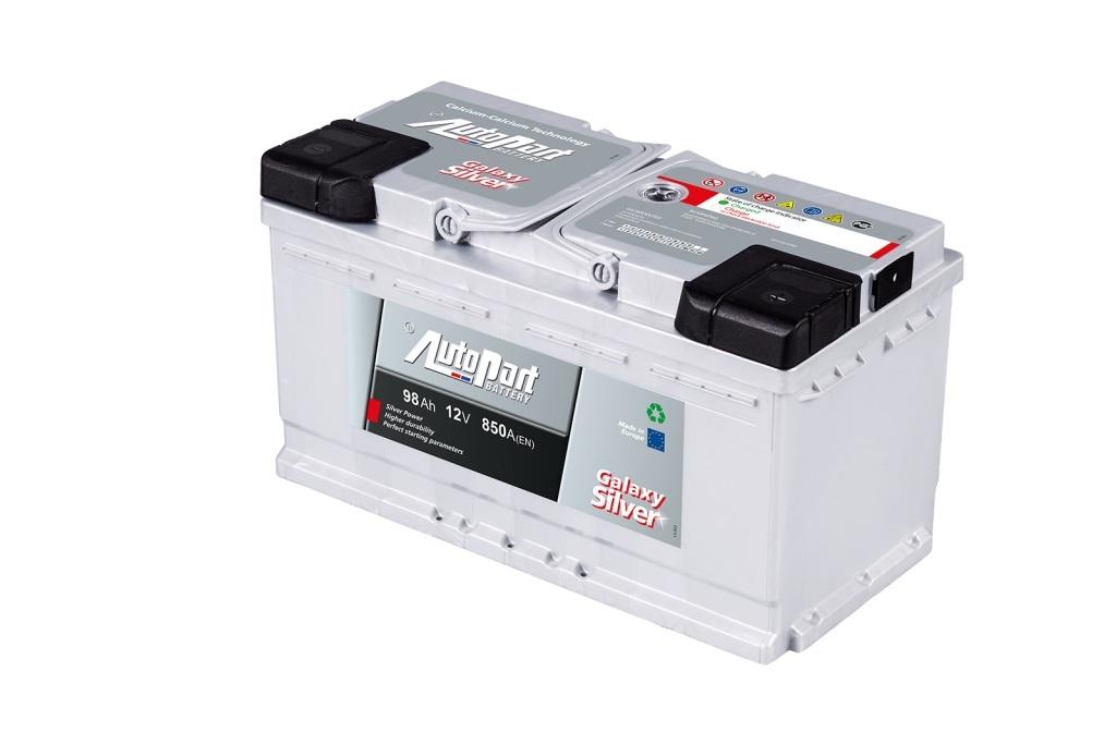 Autobaterie Galaxy Silver 98 Ah 12V, 353x175x190 mm