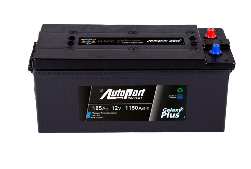 Autobaterie Galaxy Plus Heavy Duty 185 Ah 12V, 513x223x217 mm