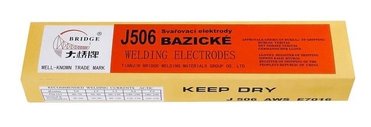 Bazické elektrody J506/2,5x300/2,5kg MAGG