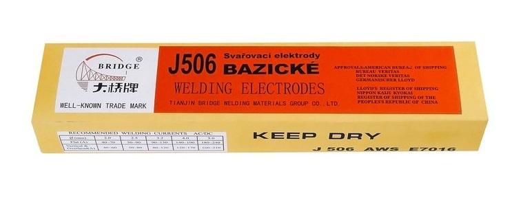 Bazické elektrody J506/3,2x350/5kg MAGG