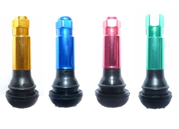 Bezdušové ventily TR 414, pro osobní auta, barevné - Ferdus