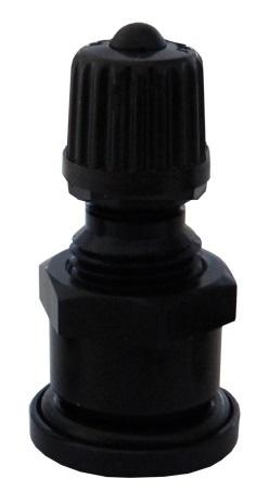 Bezdušový ventil TR 2656 černý, pro osobní auta - Ferdus 111.81