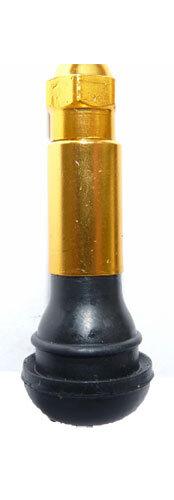 Bezdušový ventil TR 414 zlatý, pro osobní auta - 1 kus - Ferdus 11.172