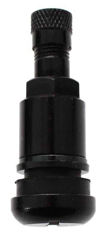 Bezdušový ventil TR525 AL, černý hliník, otvor v ráfku 11,5 mm, délka ventilu 42 mm - 1 ks