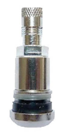 Bezdušový ventil TR525 AL, hliník, otvor v ráfku 11,5 mm, délka 42 mm - 1 kus