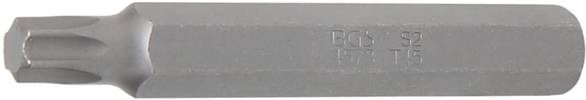 """Bit TORX 3/8"""" T45, prodloužený 75 mm - BGS 4573"""