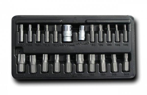 """Bity TORX Plus 1/4"""" a 10 mm, sada 22 ks - ASTA"""