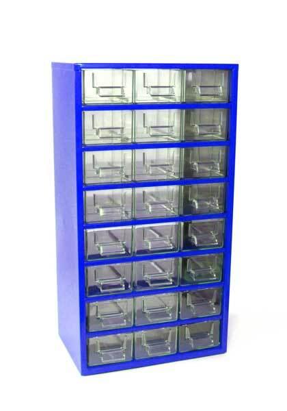Box na nářadí 78xx – 12xD, 12xE, modrá barva - Mars 7810M