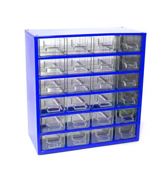 Box na nářadí 78xx – 24xD, modrá barva - Mars 7802M