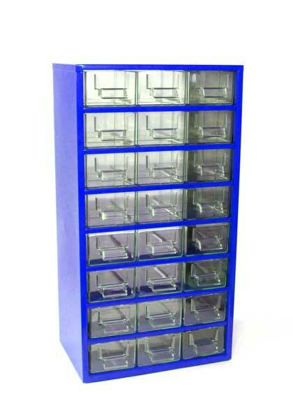 Box na nářadí 78xx – 24xE, modrá barva - Mars 7812M