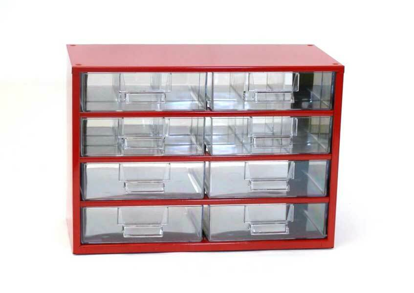 Box na nářadí 78xx – 2xF, 2xG, 4xH, červená barva - Mars 7820C