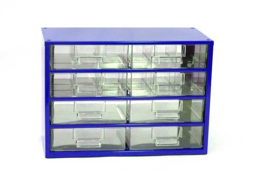 Box na nářadí 78xx – 2xF, 2xG, 4xH, modrá barva - Mars 7820M
