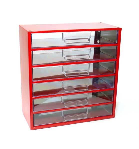 Box na nářadí 78xx – 6xI, červená barva - Mars 7825C