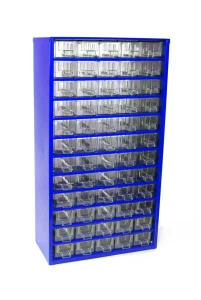 Box na nářadí MAXI – 60xA, modrá barva - Mars 6750M