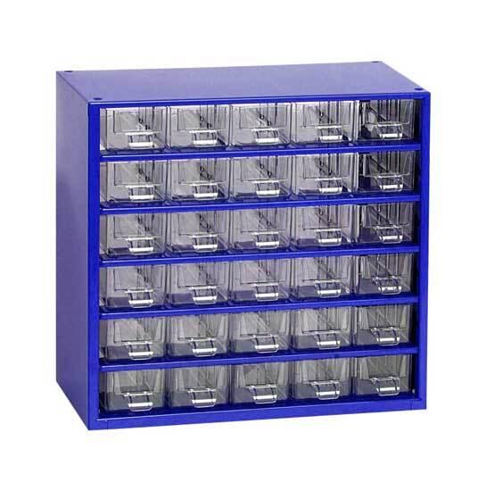 Box na nářadí MINI - 30xA, modrá barva - MARS 6762M