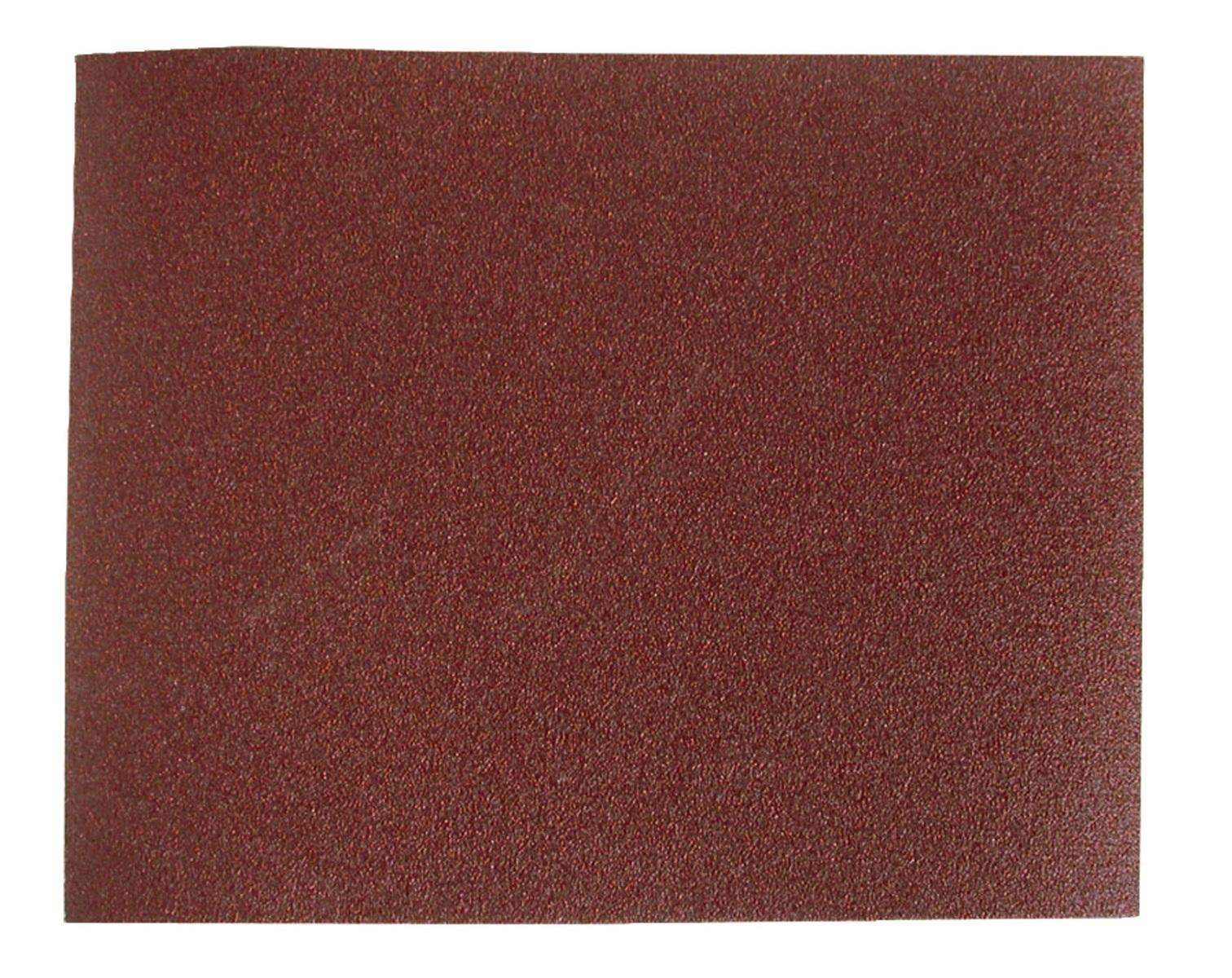 Brusná plátna - archy, různé hrubosti, 230 x 280 mm, 10 ks