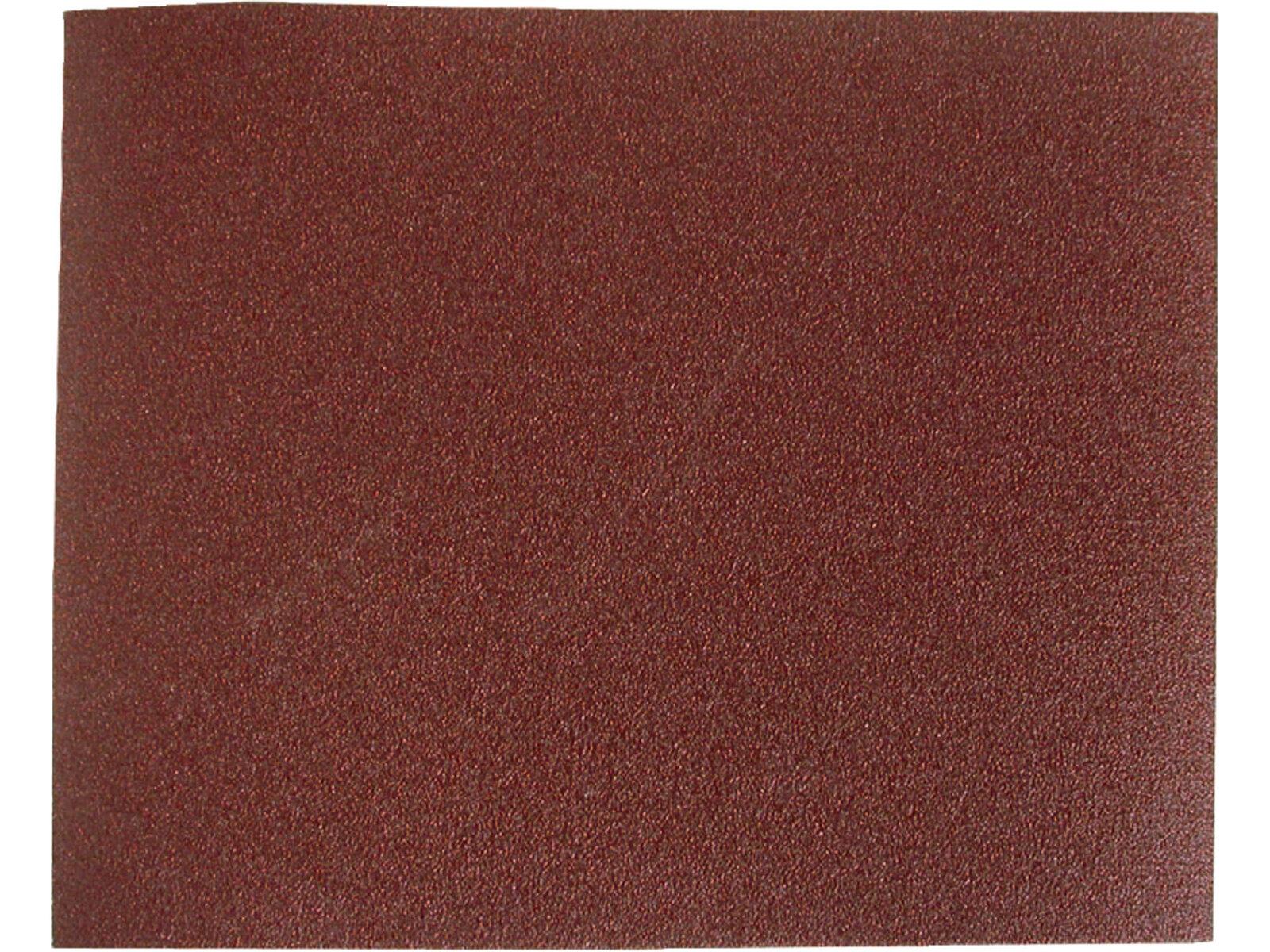 Brusné plátno - archy P80, 230 x 280 mm, balení 10 kusů