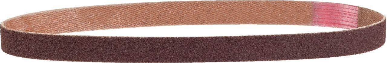 Brusné pásky k pásové brusce, délka 330 mm, hrubost 80, sada 10 kusů