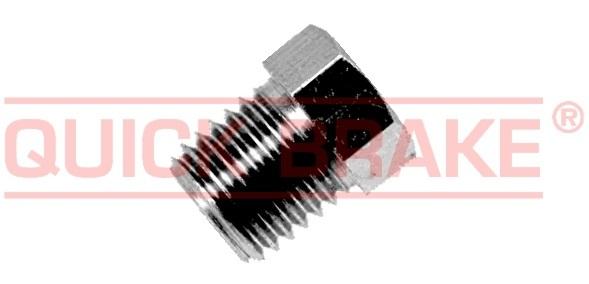 Brzdové šroubení, holendr M10 x 1.25, na brzdové vedení