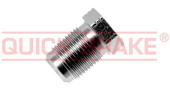 Brzdové šroubení, holendr M12x1, na brzdové vedení