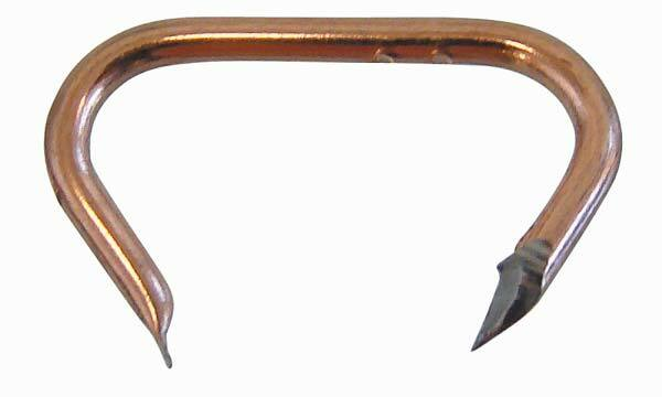 Čalounické spony, rozměr 18 x 9 mm, sada 100 kusů - Klann