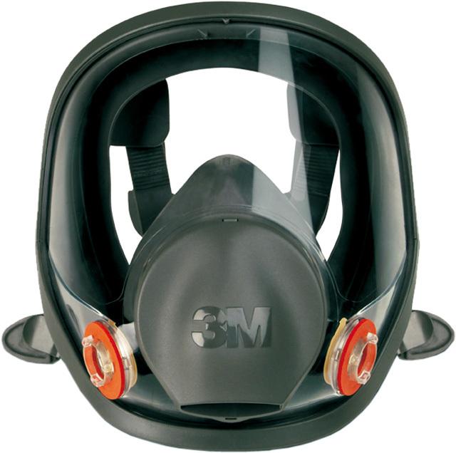 Celoobličejová maska proti plynům a výparům,střední vel. - 3M 6800