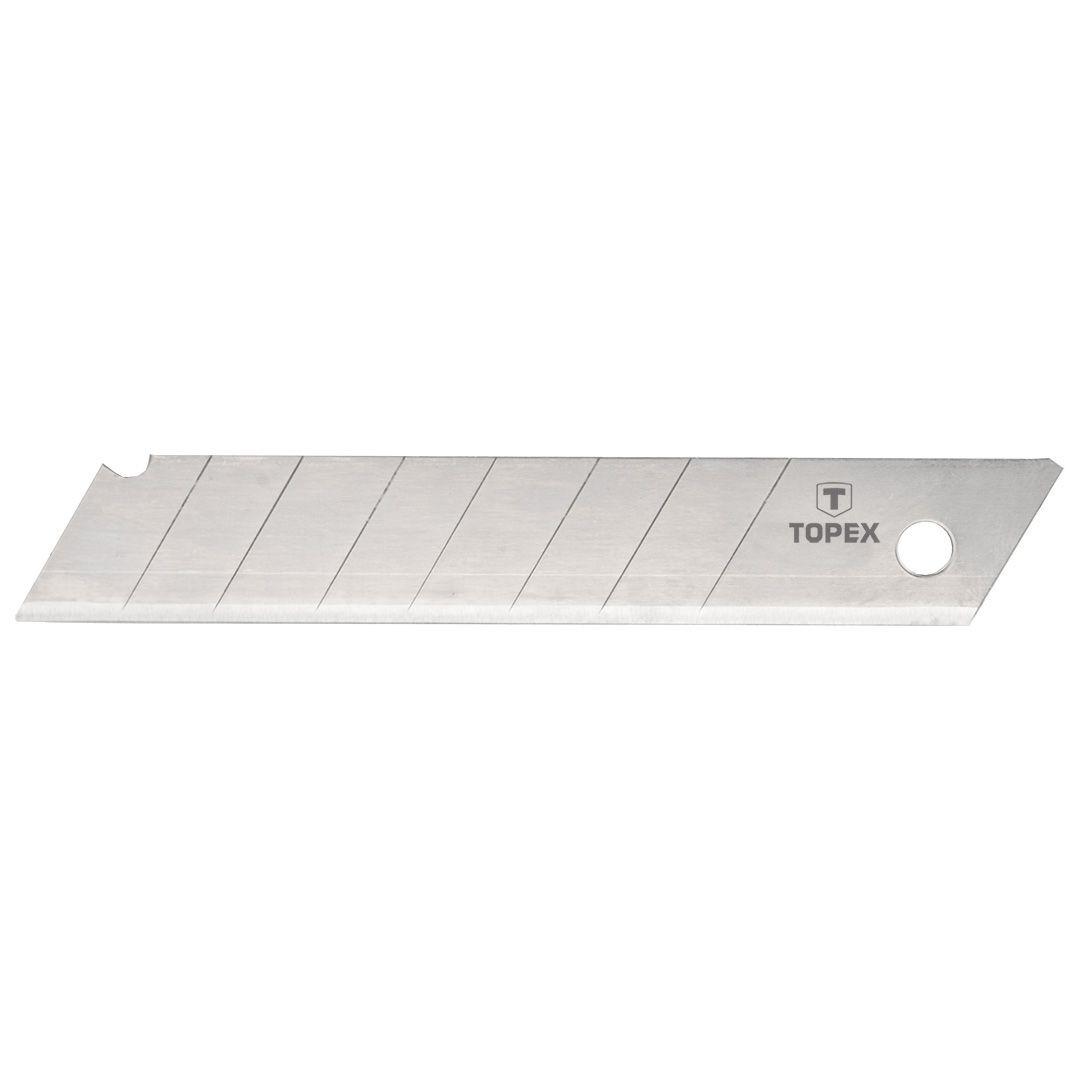 Čepele pro odlamovací nůž 18 mm, balení 10 ks