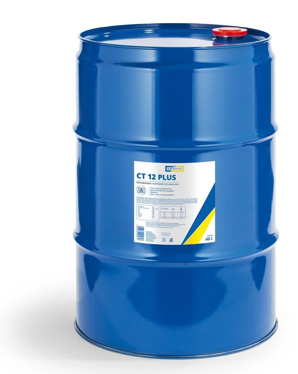 Chladicí kapalina - nemrznoucí směs CT 12 PLUS růžová, 60 litrů - Cartechnic