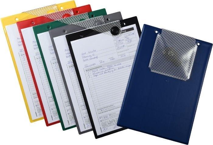 Desky na dokumenty A4 s magnetickým uzávěrem, různé barvy - Magnetic