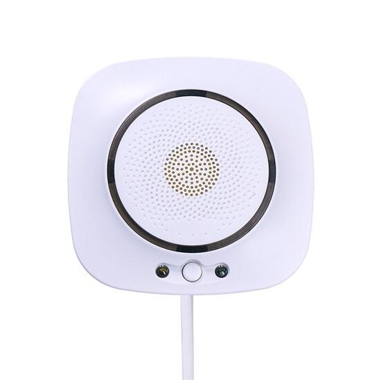 Detektor oxidu uhelnatého 85 dB, WiFi připojení, bílý